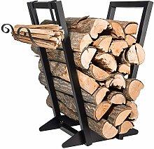 Firewood Rack Indoor丨 Fireplace Firewood Holder