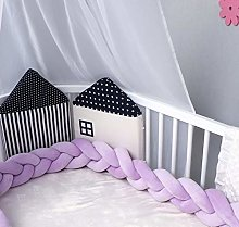 Fireworks Braided Crib Bumper 3 Strands Baby Cot