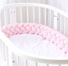 Fireworks Braided Crib Bumper 4 Strands Baby Cot