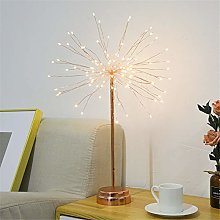Fireworks Table Lights Battery Powered 100 led