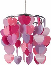 First Choice Lighting - Pink Heart Easy Fit Light