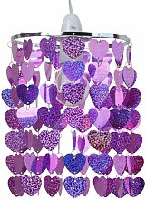 First Choice Lighting - Pink Sparkly Heart Easy