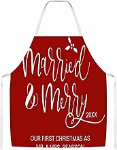 First Christmas As Mr And Mrs Newlywed Photo Red