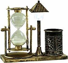 FISH4 Creative Retro Hourglass Timer Craft Sand