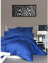 Fishburne Duvet Cover Set Canora Grey Colour: Dark