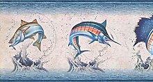 Fishes Wallpaper Border NM6813B
