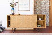 Fiska light oak sideboard