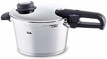 Fissler Pressure Cooker with Steamer Insert and
