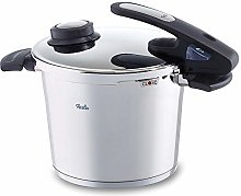 Fissler vitavit edition design Pressure Cooker 630-303-06-070/0, 6 Litres, 22 cm, Made Of Stainless Steel For All Stove Types
