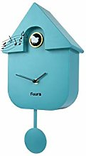 Fisura CL0822 Modern Cuckoo Wall Clock with Bird