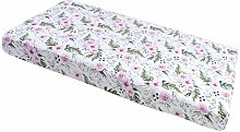Fitted Sheet 60 x 120 cm 100% Cotton Baby Bedding