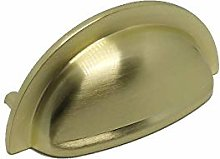 FittingsCo 10X Cairo Cup Handle Brushed Gold Finish
