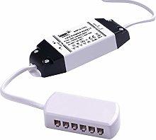 FITTINGSCO 15W 12VDC LED Power Converter 6 Way AMP