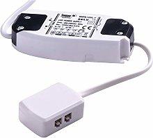 FITTINGSCO 8W 12VDC LED Power Converter 3 Way AMP
