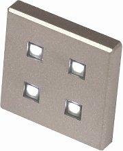 FITTINGSCO Square LED Plinth Light Kit Kick Board