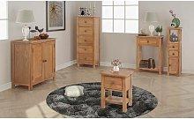Five Piece Living Room Furniture Set Solid Oak