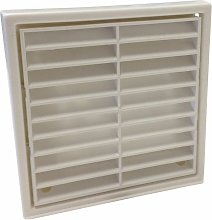 Fixed Grill 4' White - R41051 - Manrose
