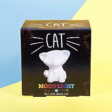 Fizz Creations Cat Mood Light, Multicolour