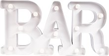 Fizz Creations Marquee Bar Sign - White