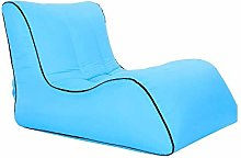 FKB Home Single Lazy Sofa Inflatable Sofa Portable