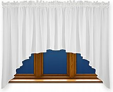 FKL LB-163 Pretty Ready-Made Voile Window Curtain