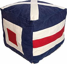 Flag Pouffe