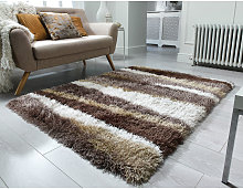 Flair Rugs - Modern Deep Pile Quality Thick Very