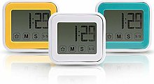 Flaito Digital Timer Waterproof Adsorption Clock,