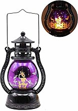 Flame Fireplace Lamp Flame Light Halloween LED