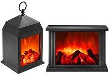Flame Lantern Large