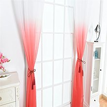 FLAMEER 2Pcs Curtains for Living Room Panels Soft