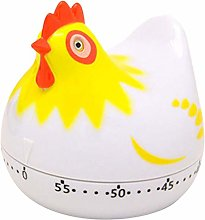 FLAMEER Chicken Kitchen Timer 60 Minute Timing