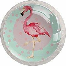 Flamingo Cabinet Door Knobs Handles Pulls Cupboard
