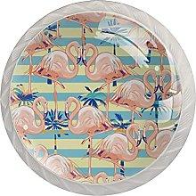 Flamingo Pattern, Modern Minimalist Printing