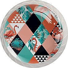 Flamingos Pattern , Modern Minimalist Printing