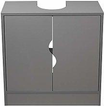 Flaminio Partial Pedestal Bathroom Sink Cabinet
