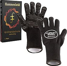 FLAMMENHELD Grill Gloves Heat Resistant Oven