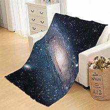 Flannel Fleece Throw Blankets Galaxy Super Soft