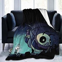 Flannel Fleece Throw Blankets,Hollow Knight Ultra