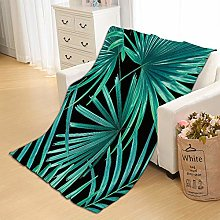 Flannel Fleece Throw Blankets Leaves Super Soft