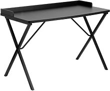 Flash Furniture Computer Desk, Steel, Black
