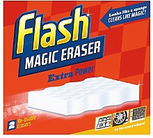Flash Magic Eraser Extra Power (2) - Pack of 2 by