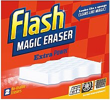 Flash Magic Eraser Extra Power Household Cleaner -