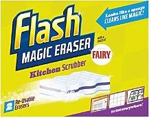 Flash Magic Eraser Household Cleaner Kitchen 2 per