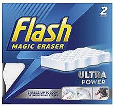 Flash Magic Eraser Ultra Power (2 Erasers)