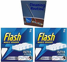 Flash Magic Eraser Ultra Power Pack of 2 (4
