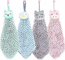 Flashing 4 Pack Cute Chenille Soft Hanging Hand