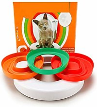 Flashing Plastic Cat Toilet Training Kit Litter