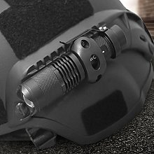 Flashlight Clip Helmet, with A Rechargeable