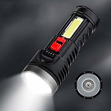 Flashlight Torch Super Bright Rechargeable USB Led